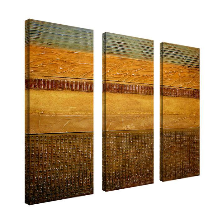 "Michelle Calkins ""Earth Layers"" Set of 3 Giclée Prints"