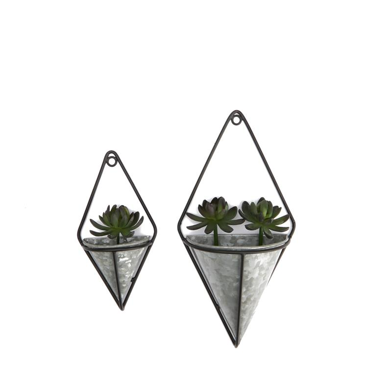 Mind Reader 2-Pack Small Decorative Planters