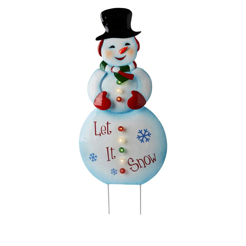 """Mr. Christmas 38"""" LED Holiday Lawn Decoration with 6-Hour Timer"""