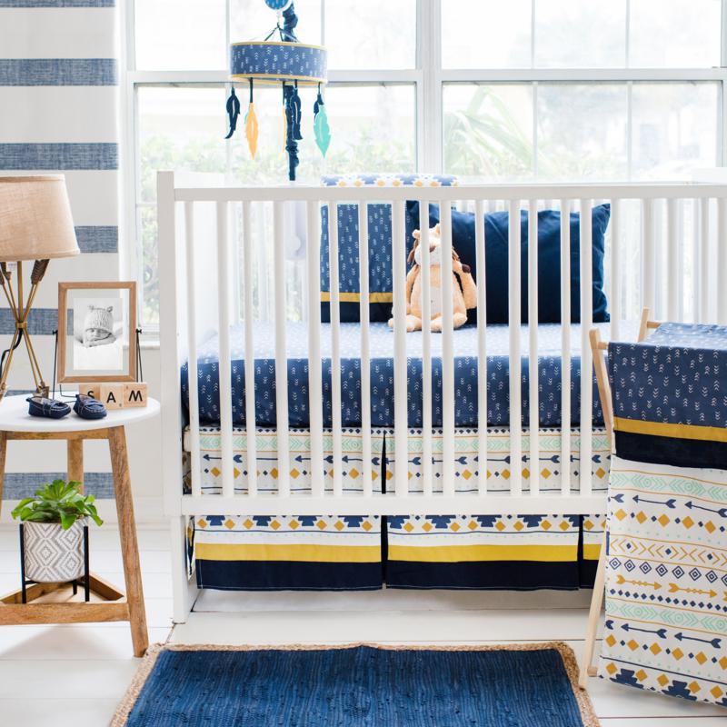 My Baby Sam Desert Sky 3-piece Crib Bedding Set