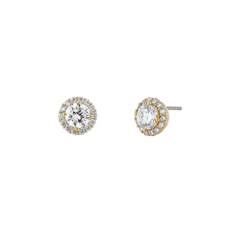 Nadri Cubic Zirconia Frame Stud Earrings