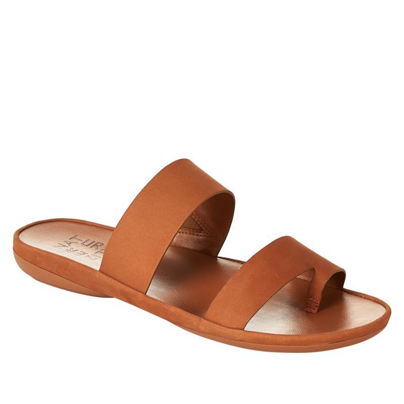 Naturalizer Gen N Drift Leather Toe Loop Slide Sandal