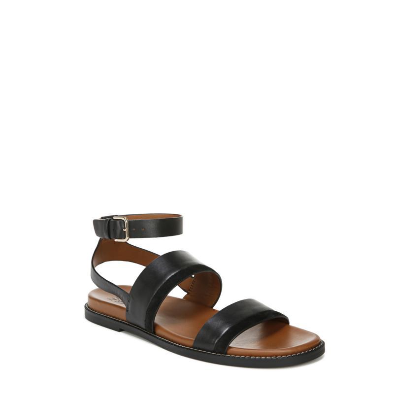 Naturalizer Kelsie Ankle Strap Flat Sandals