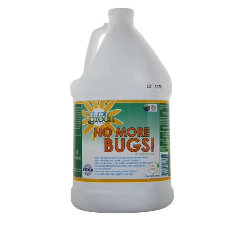 Naturally Green No More Bugs! Concentrate Gallon Bottle
