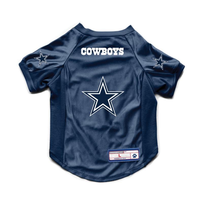 NFL Dallas Cowboys Large Pet Stretch Jersey