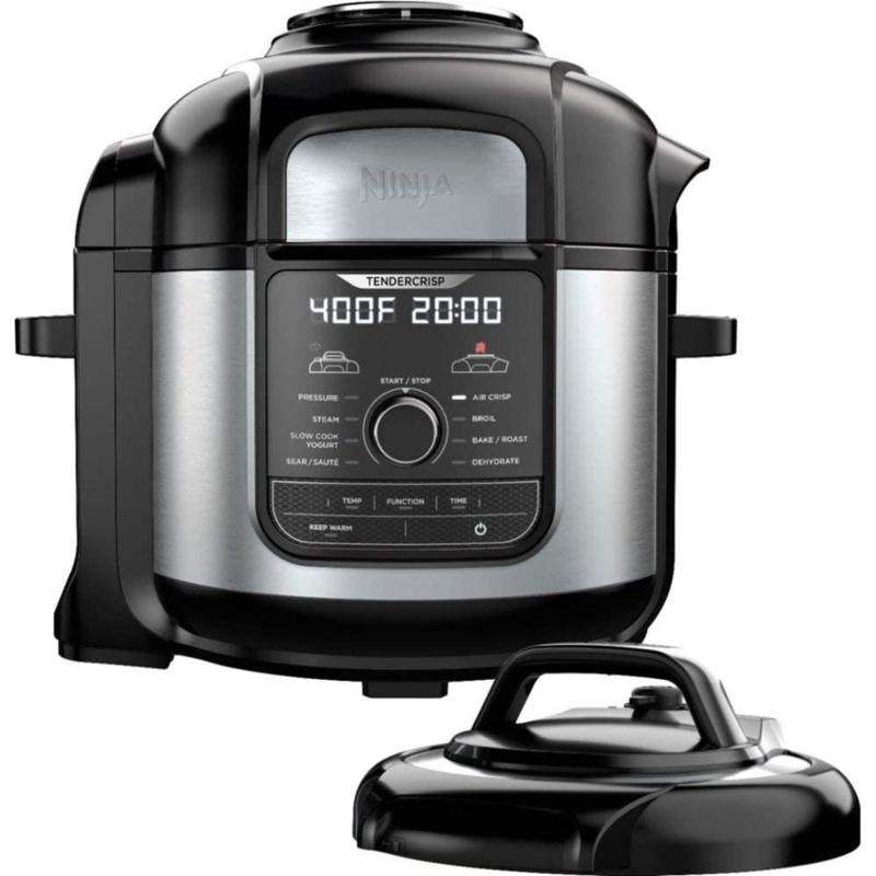 Ninja STE Foodi 8qt 9-in-1 Deluxe XL Pressure Cooker & Air Fryer