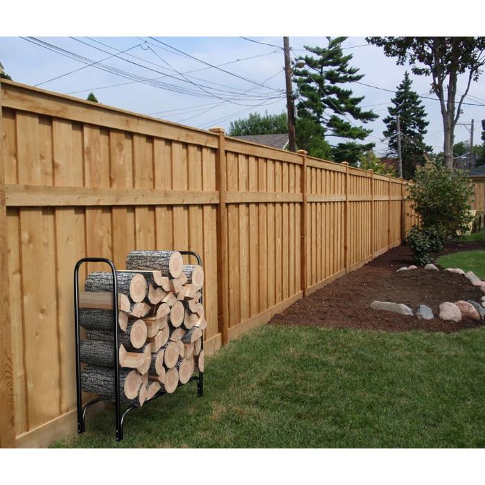 Northwest Indoor/Outdoor Firewood Storage Rack