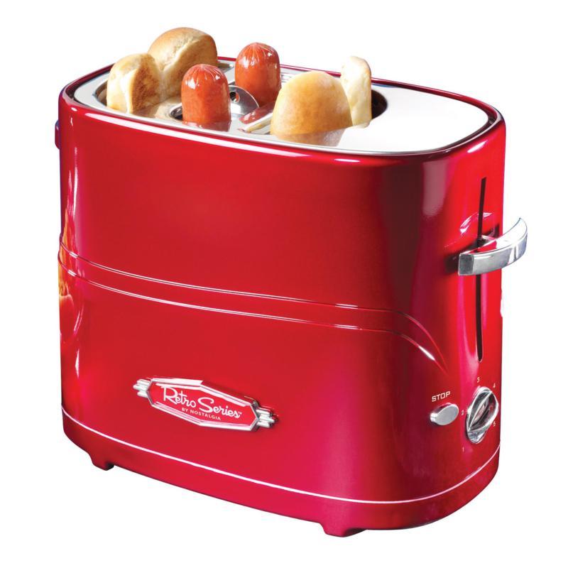 Nostalgia  Pop-Up Hot Dog Toaster