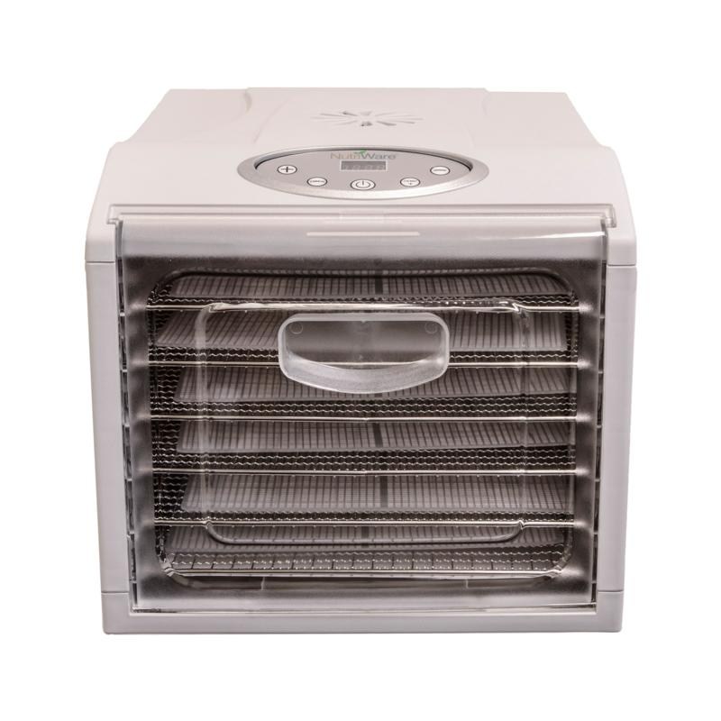 NutriWare® 6-Tray Digital XL Digital Food Dehydrator (NFD-815D)