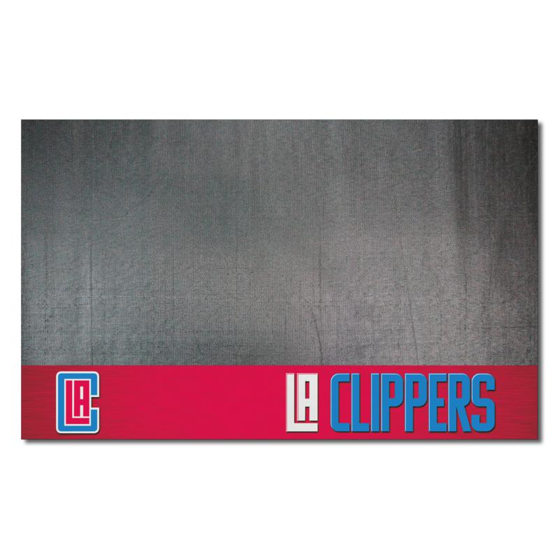 Officially Licensed NBA Vinyl Grill Mat  - Los Angeles Clippers