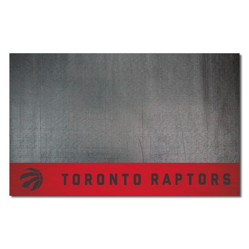 Officially Licensed NBA Vinyl Grill Mat  - Toronto Raptors