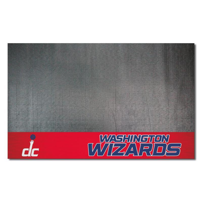 Officially Licensed NBA Vinyl Grill Mat  - Washington Wizards