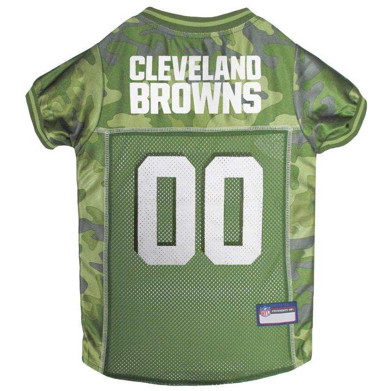 Officially Licensed NFL Camo Jersey - Cleveland Browns