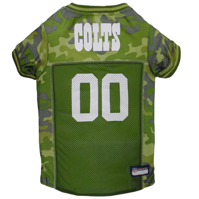Officially Licensed NFL Camo Jersey - Indianapolis Colts