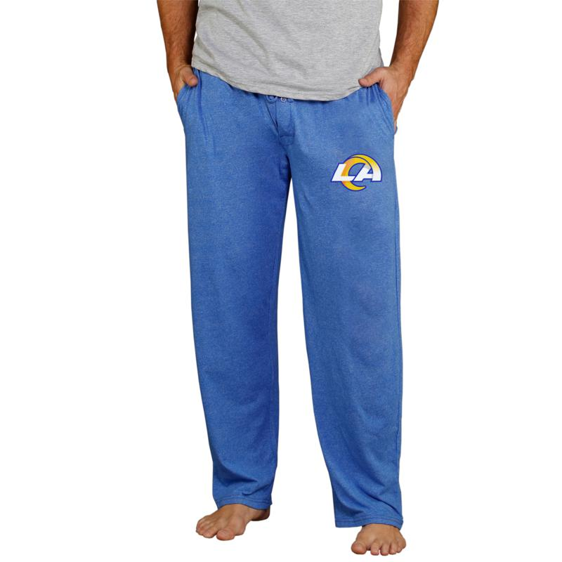Officially Licensed NFL Men's Knit Pant by Concept Sports - Rams
