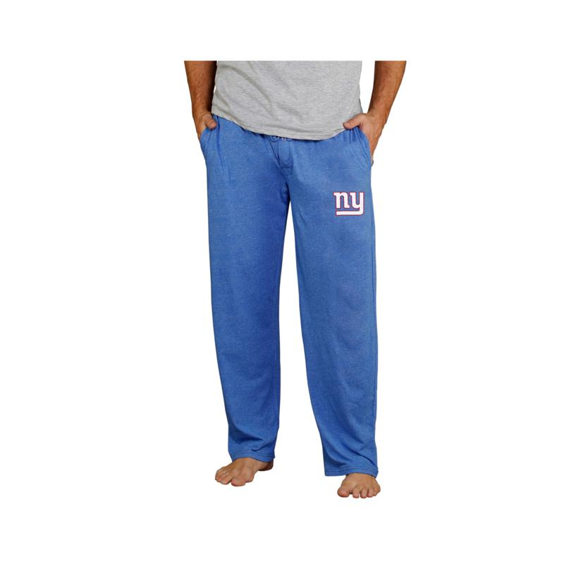 Officially Licensed NFL Men's Knit Pant by Concept Sports - NY Giants