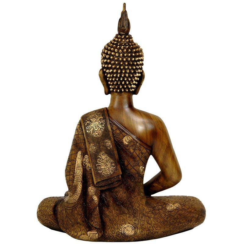 Oriental Furniture 11 Thai Sitting Buddha Statue 7284237 Hsn