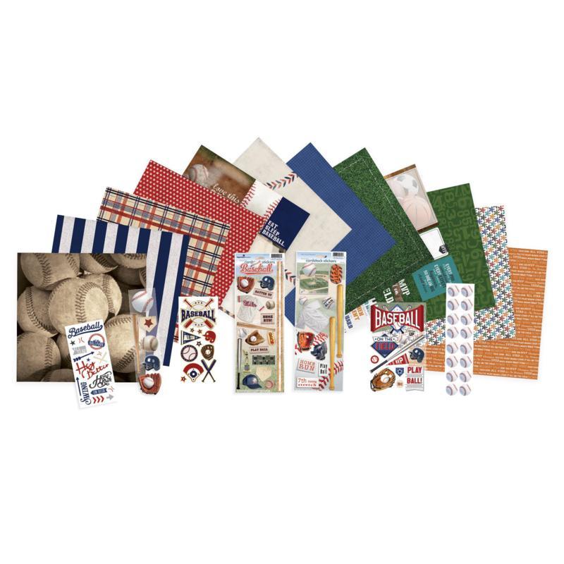 Paper House Baseball Paper Crafting Bundle