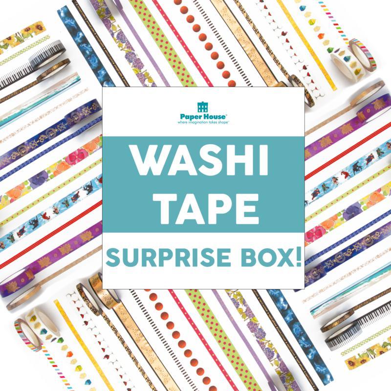 Paper House Birthday Surprise Washi Tape 25-piece Set