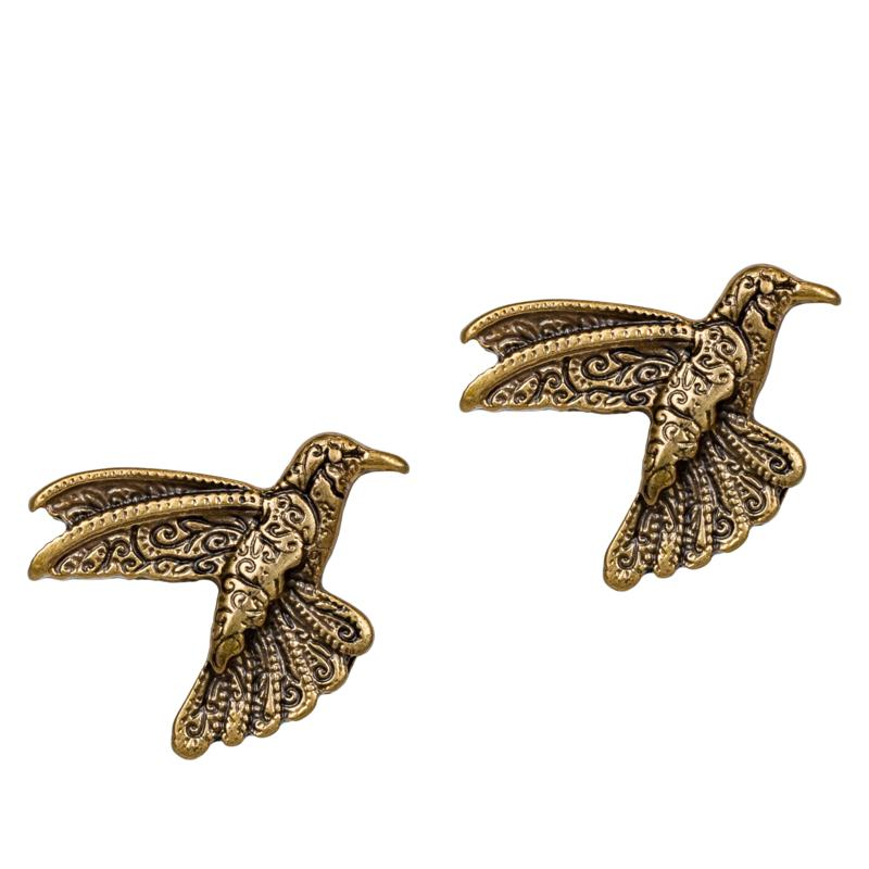 Patricia Nash Hummingbird Stud Earrings