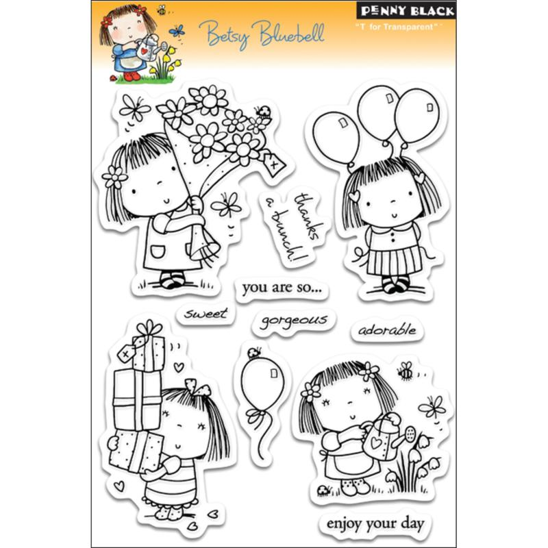 Penny Black Clear Stamps Sheet - Betsy Bluebell