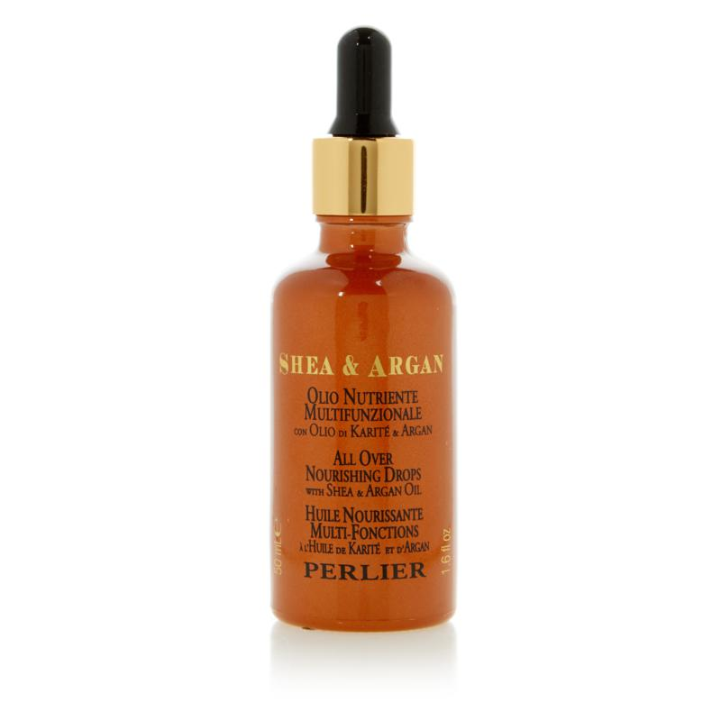 Perlier All Over Nourishing Drops with Shea Butter and Argan Oil