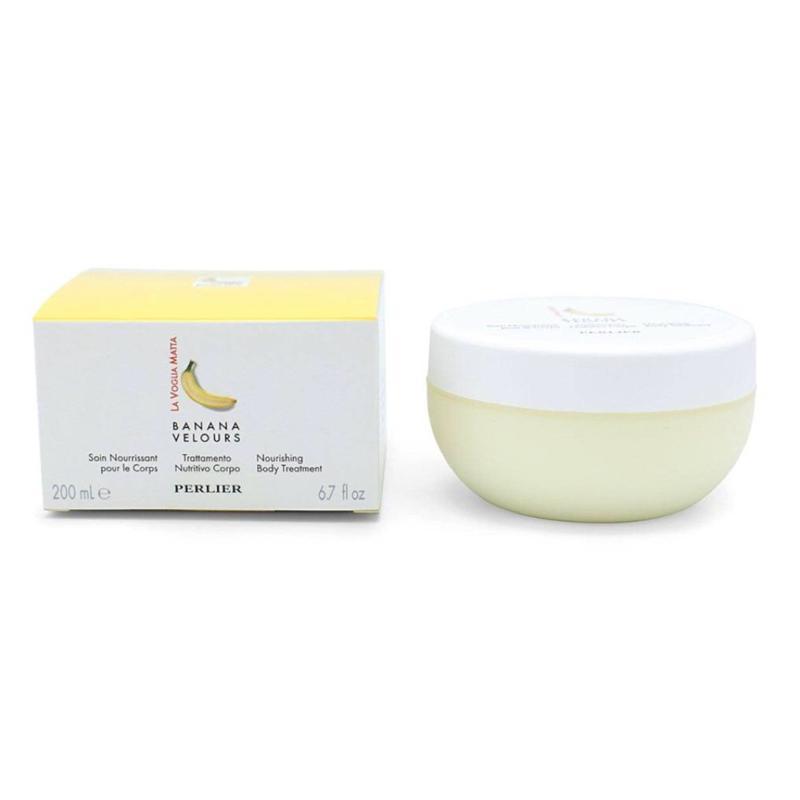 Perlier Banana Velour Body Cream