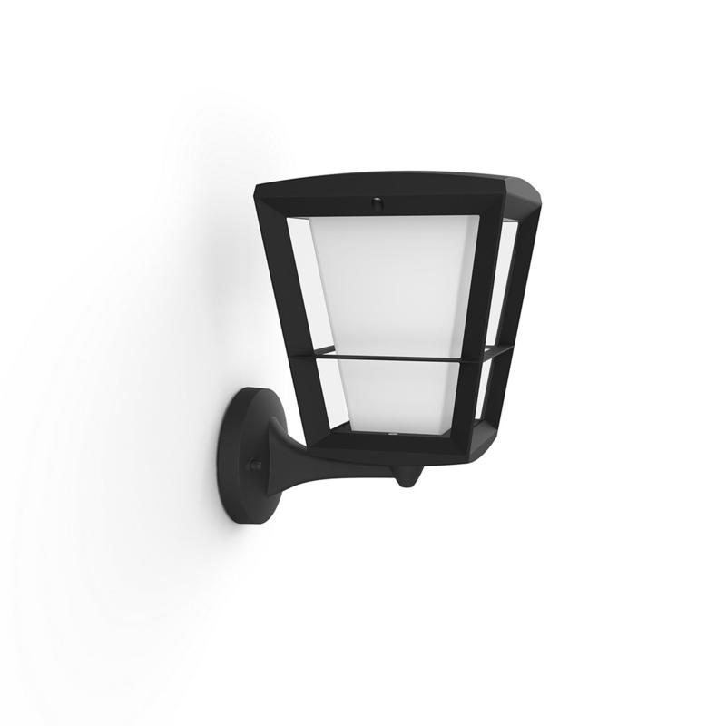 Philips Hue Outdoor White & Color Econic Bottom-Mounted Wall Lantern