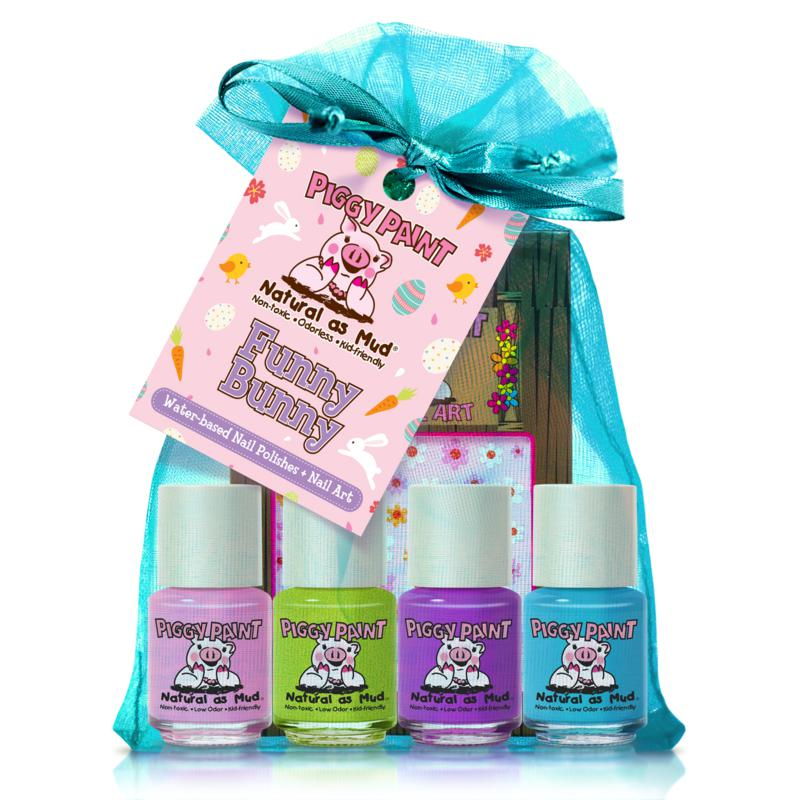 Piggy Paint Funny Bunny 4-pack