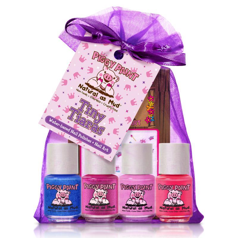 Piggy Paint Tiny Tiaras 4-pack