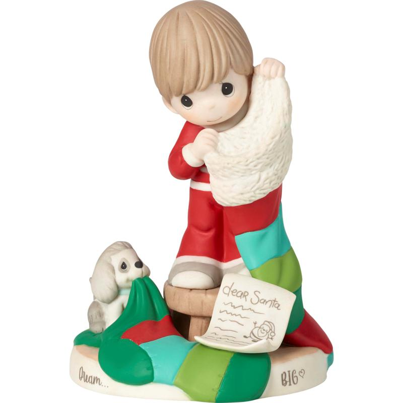 Precious Moments Dream Big Bisque Porcelain Boy Figurine