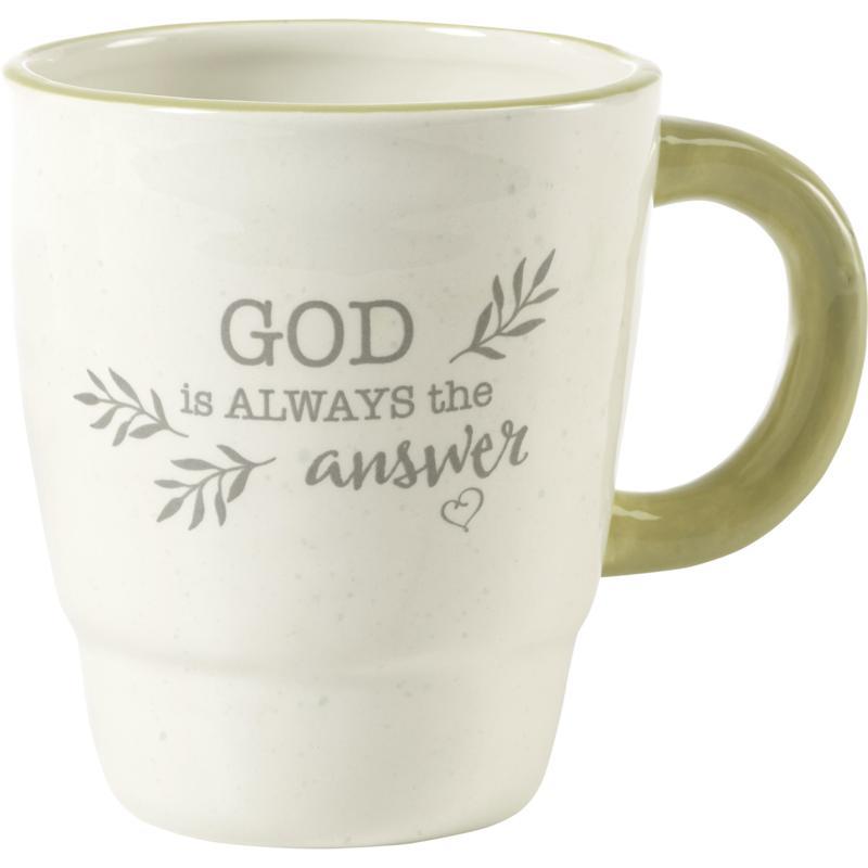 Precious Moments God Is Always The Answer Ceramic Mug