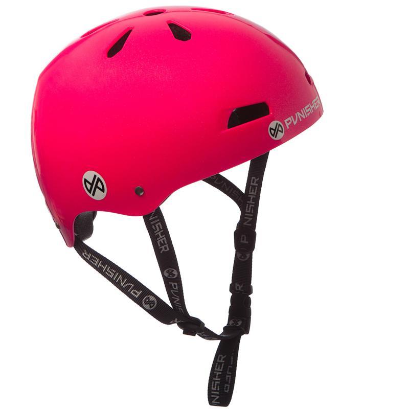 Punisher Premium Hot Pink Youth Skateboard Helmet