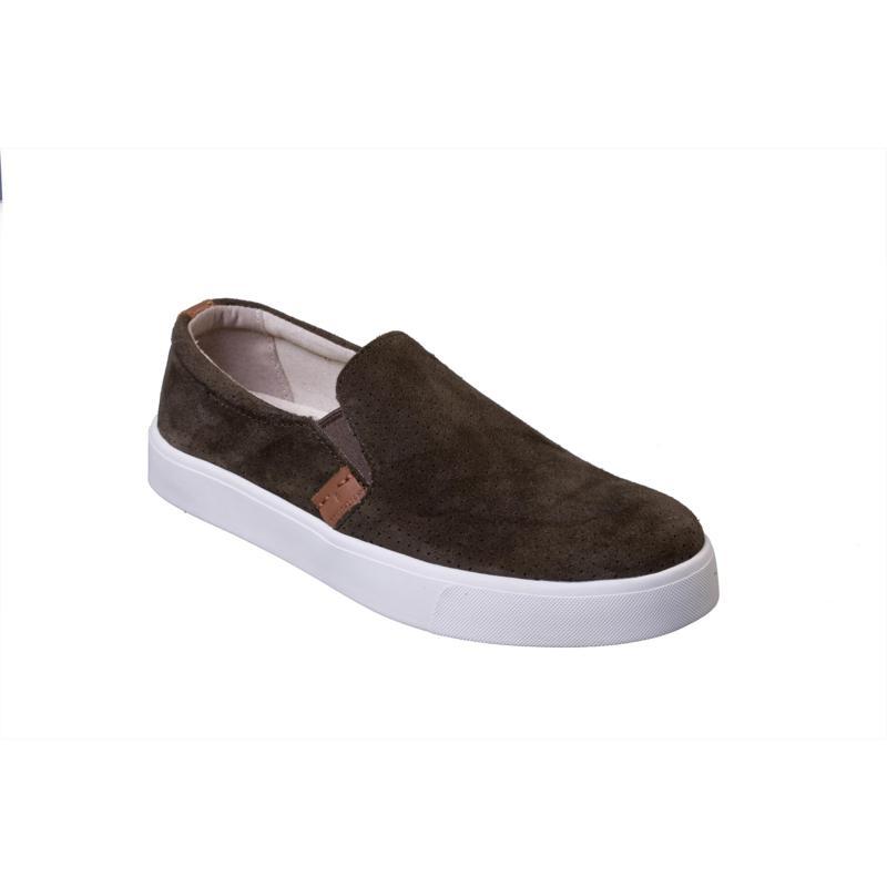Revitalign Boardwalk Slip-on Leather Orthotic Sneaker