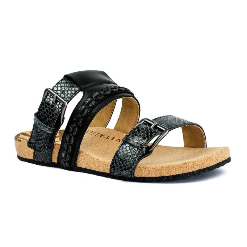 Revitalign Sofia Slide Leather Sandal