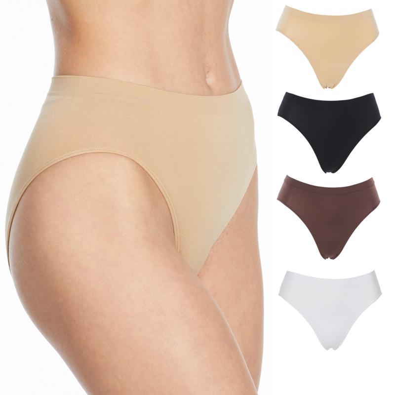 Rhonda Shear Ahh Seamless Brief 2-Pack-342631-White/Nude