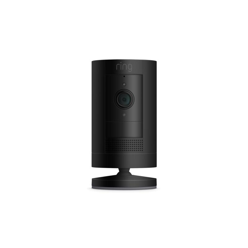 Ring Stick Up HD Video Indoor/Outdoor Battery Camera - Black