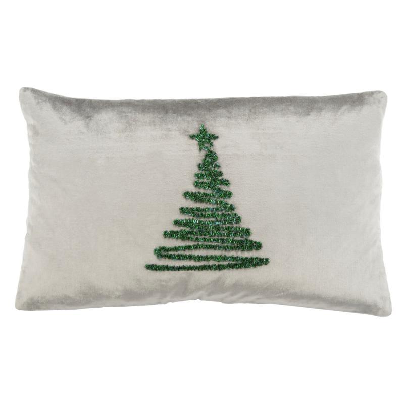 "Safavieh Enchanted Evergreen 12"" x 20"" Pillow"