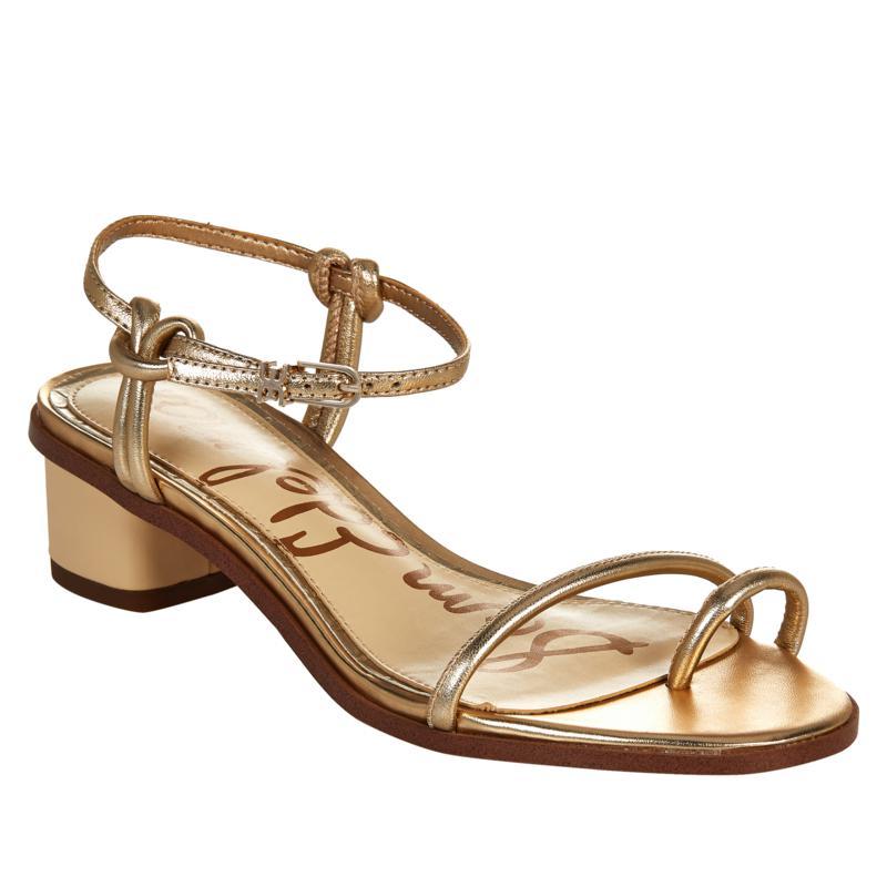 Sam Edelman Isle Strappy Leather Toe Loop Sandal