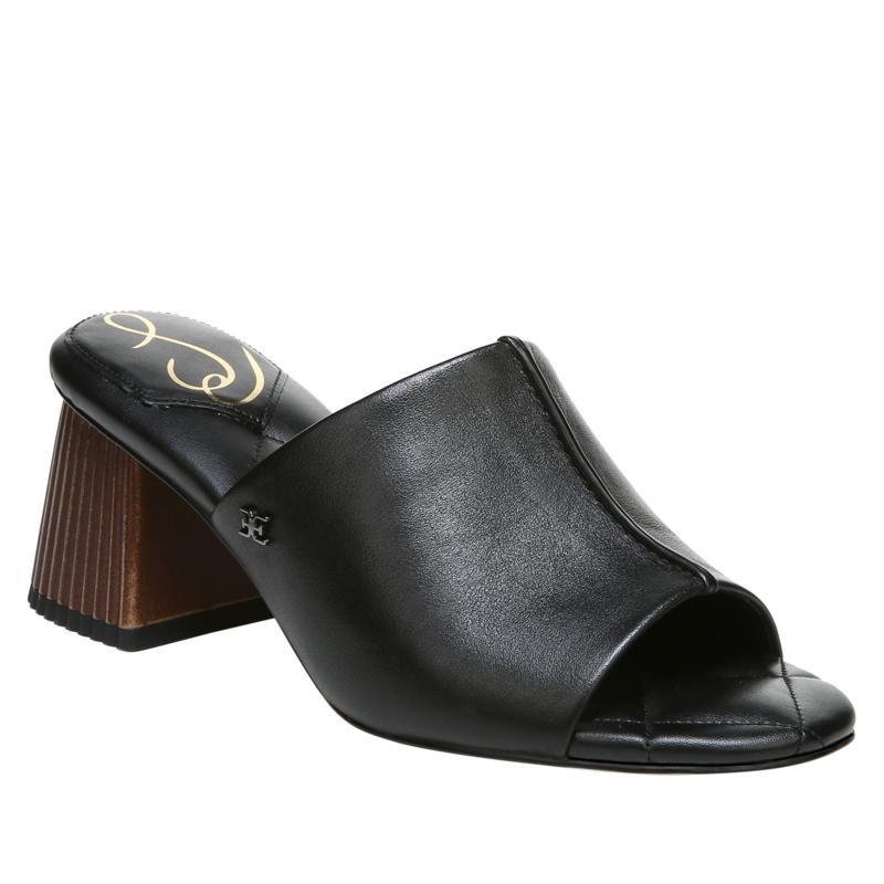 Sam Edelman Sonya Leather Architectural Heel Mule