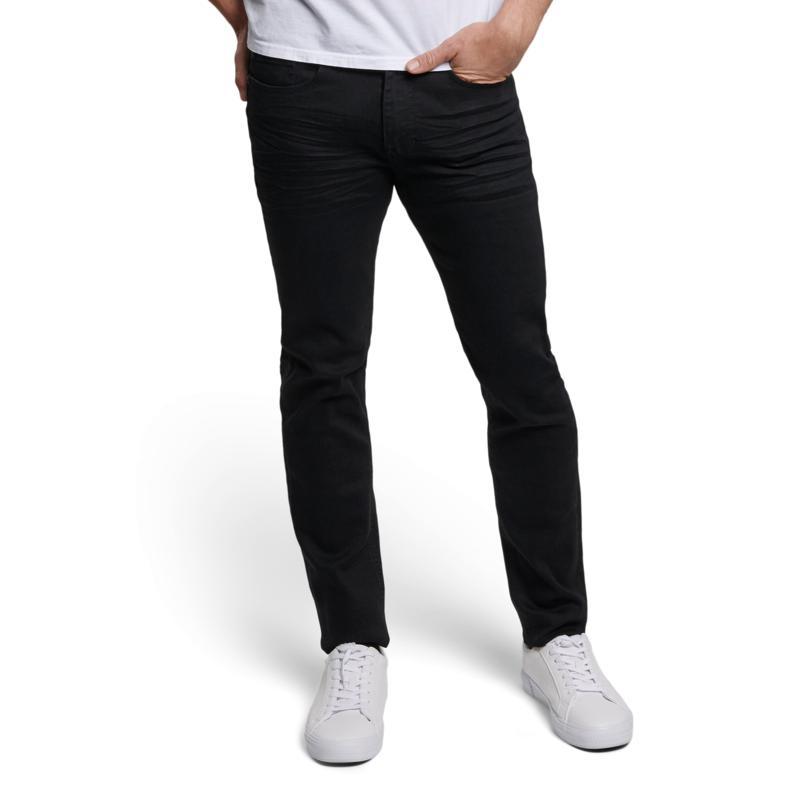 Seven7 Men's Super Slim Jean - Black