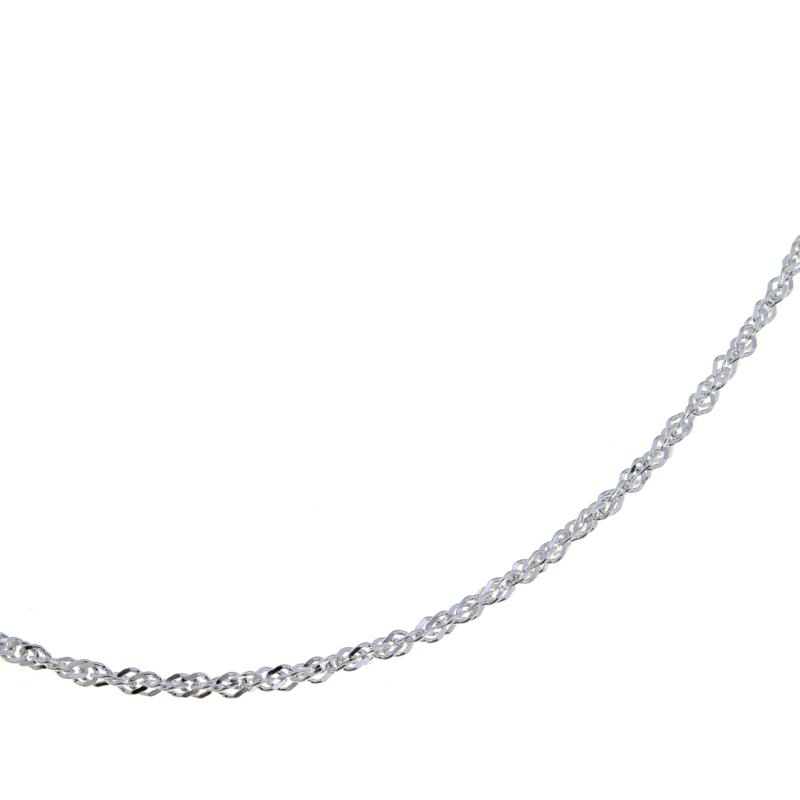 "Sevilla Silver™ 2mm 16"" Singapore Chain"