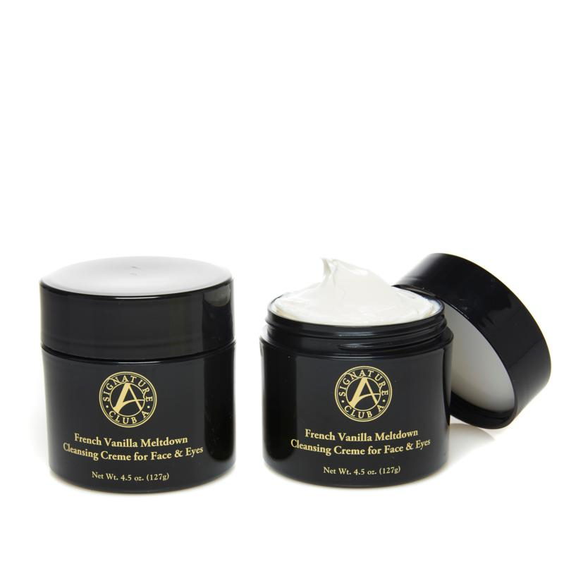 Signature Club A French Vanilla Cleansing Meltdown Duo
