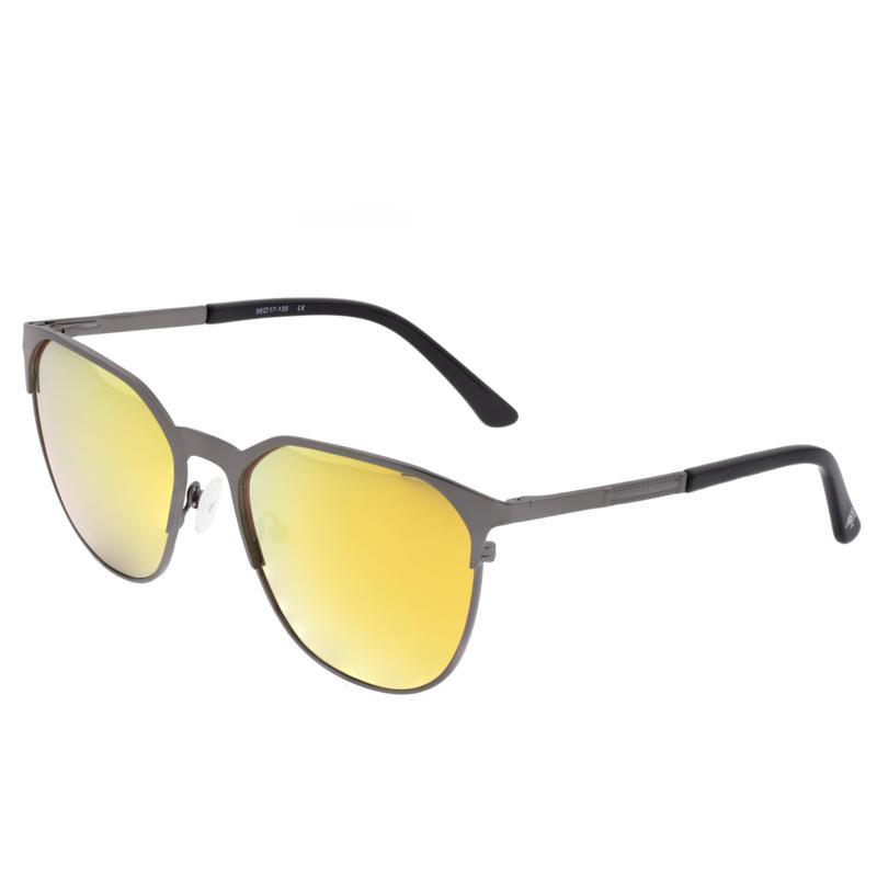 Sixty One Corindi Polarized Sunglasses - Brown Frames / Yellow Lenses