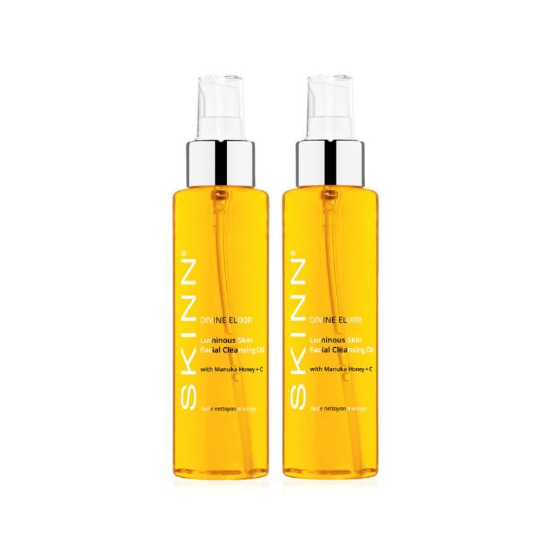 Skinn® Cosmetics 2-pack Divine Elixir Luminous Facial Cleansing Oil
