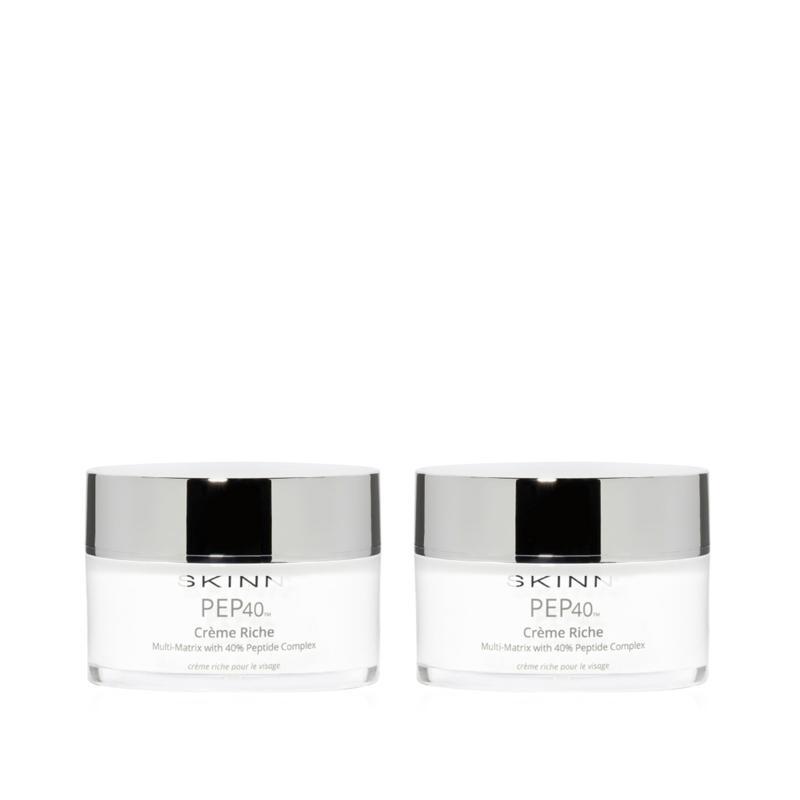 Skinn® Cosmetics 2-pack PEP40 Creme Riche - 9793875   HSN