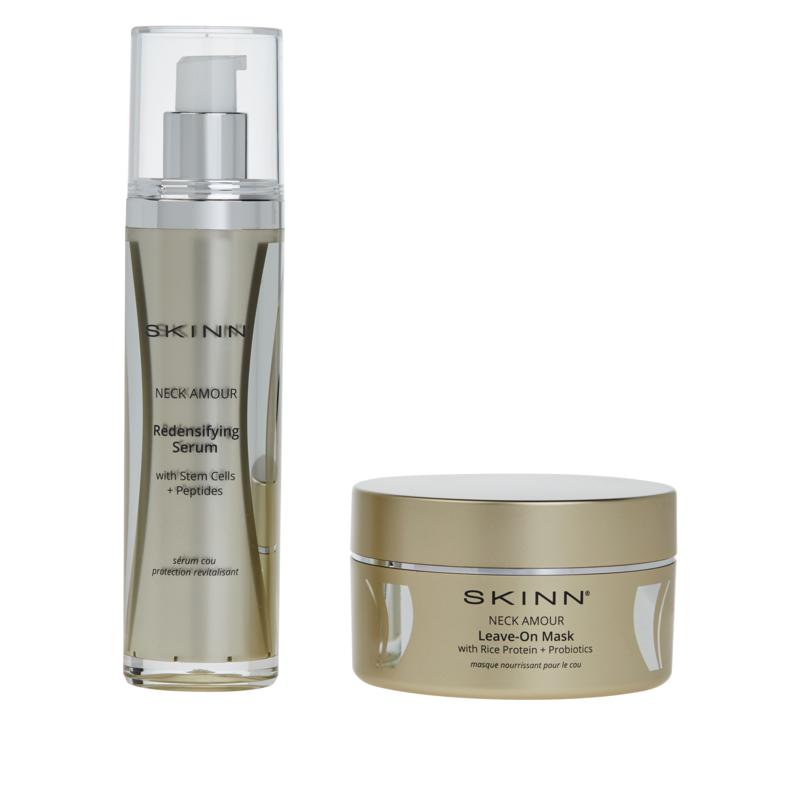 Skinn® Cosmetics Neck Amour Leave-On Mask & Neck Amour Redensify Serum