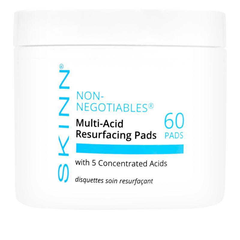 Skinn® Cosmetics Non-Negotiables Multi-Acid Resurfacing Pads