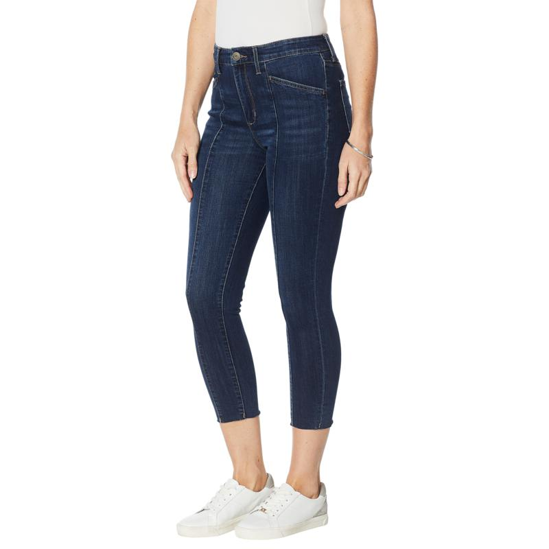 Skinnygirl Reagan High-Rise Skinny Ankle Jean