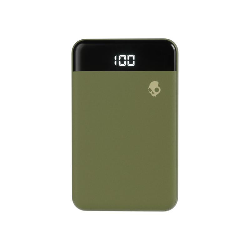 Skullcandy Fat Stash Portable Battery Pack in Olive